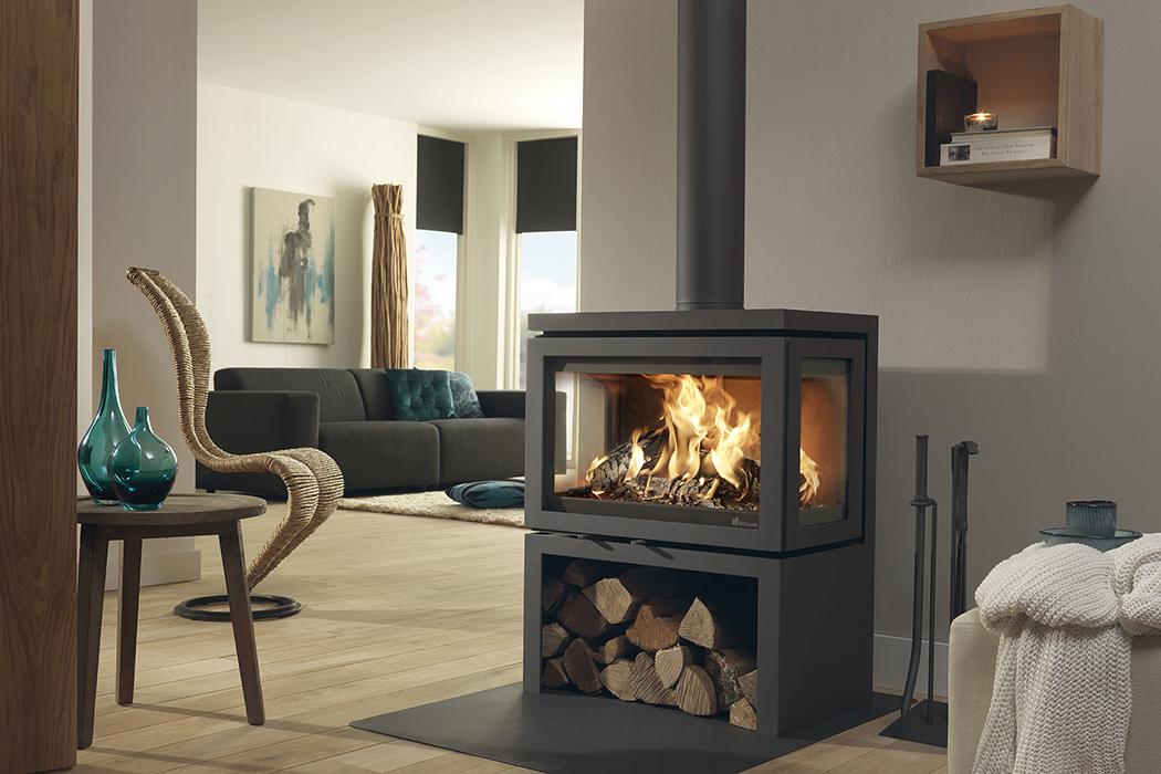 Free Standing Wood Stove Hearth Fireplaces