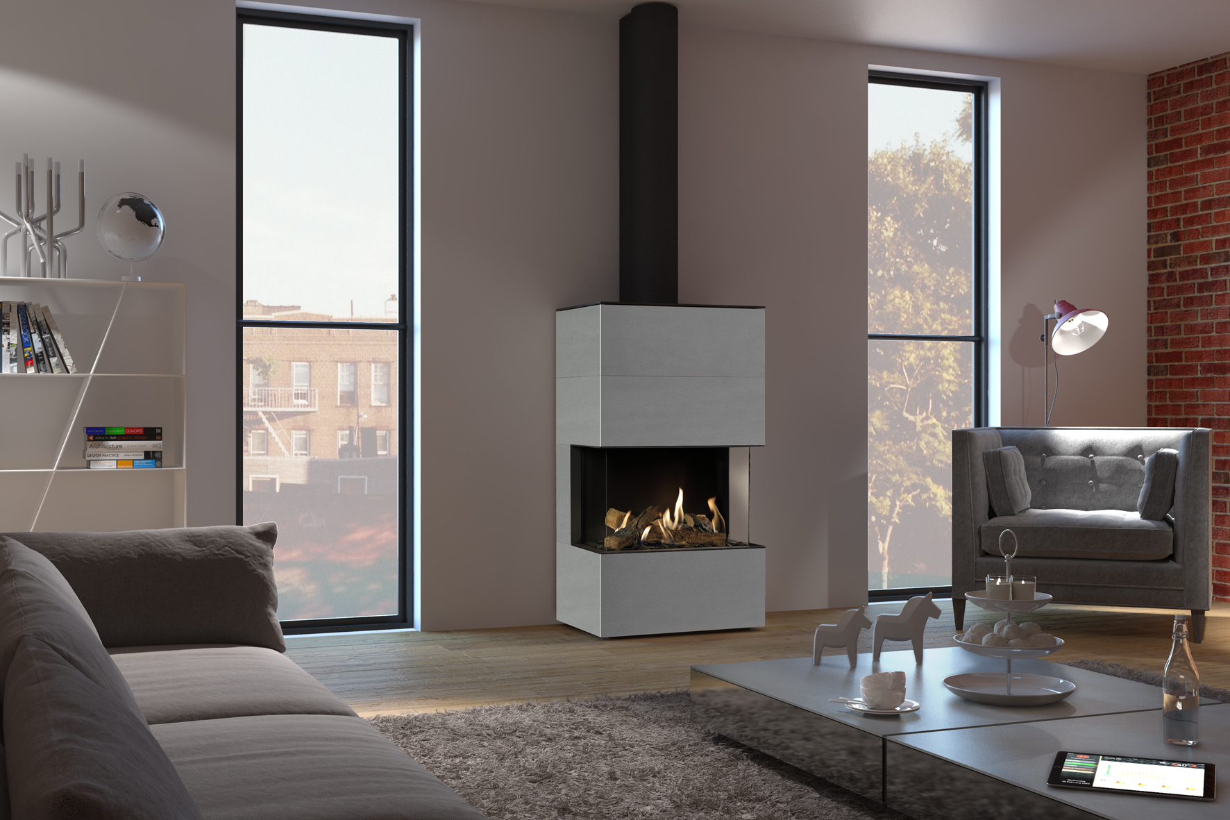 dru freestanding gas fires and stoves