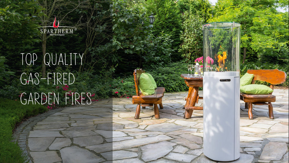 Top quality gas-fired garden fires