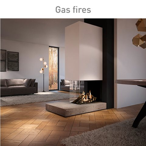 Gas fires, view our product range.