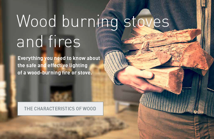 Wood burning stoves and fires. Everything you need to know about the safe and effective lighting of a wood-burning fire or stove. The characteristics of wood.