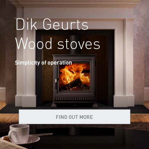 Dik Geurts wood stoves, simplicity of operation. Find out more.