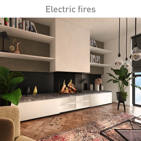 Electric fires, view our product range.
