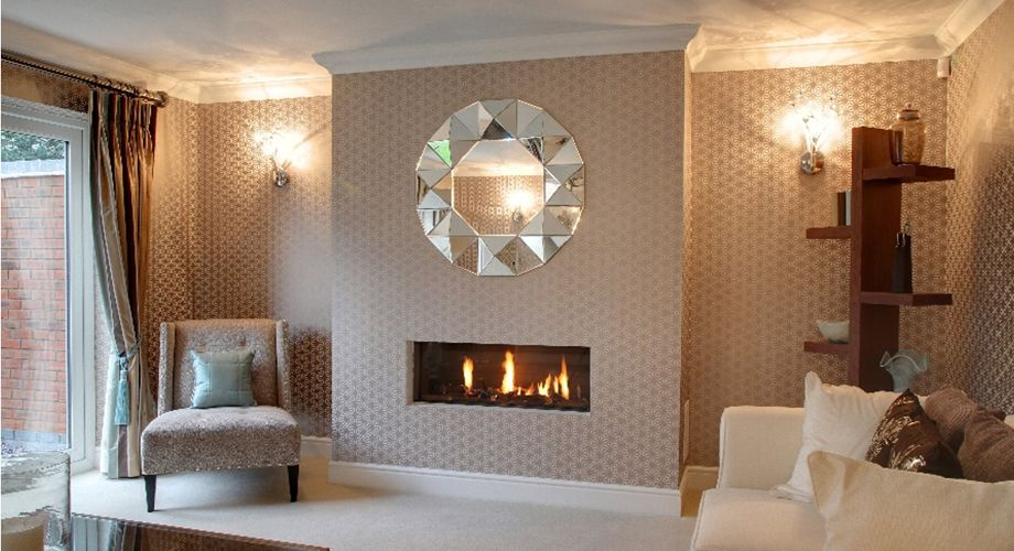A Closed Combustion Or Balanced Flue Gas Fire Needs No Chimney Instead The Can Be Housed In False Chimneyt Modern Home Inserted Into