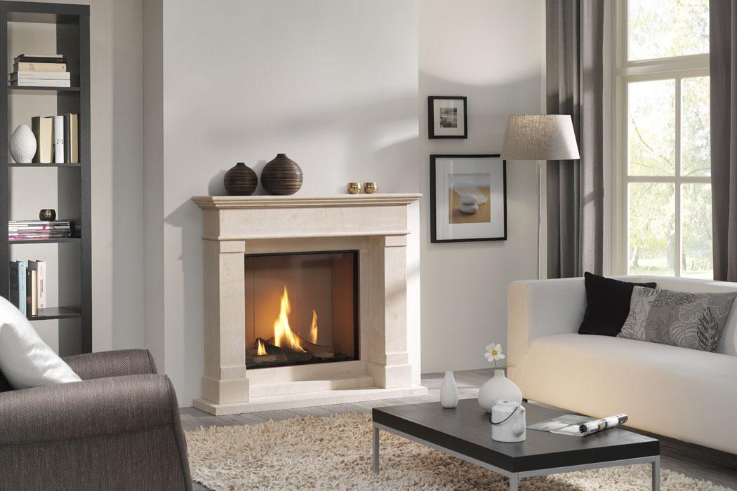 dru dru global 70xt bf large handsome square fronted balanced flue gas fire. Black Bedroom Furniture Sets. Home Design Ideas